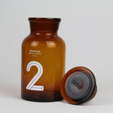 Brown Glass Pharmacy Bottle | Number 2