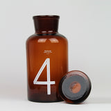 Brown Glass Pharmacy Bottle | Number 4