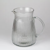 Fluted Glass Jug | Large