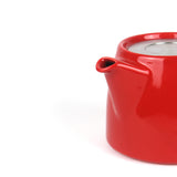Large Stump Teapot | Red