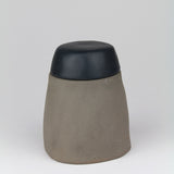 Stoneware Sugar Bowl | Stone + Black