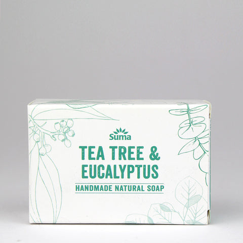 Tea Tree + Eucalyptus Soap