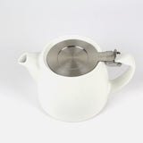 Large Stump Teapot | White