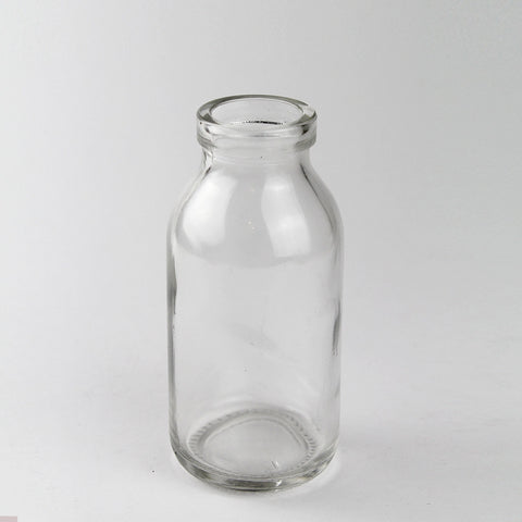 Mini Glass Milk Bottle