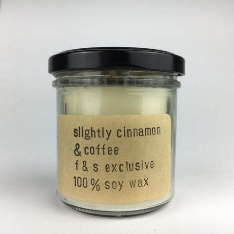 Slightly Cinnamon & Coffee Candle