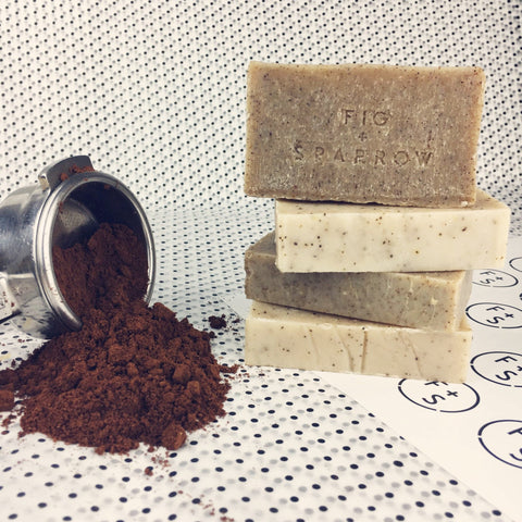 Recycled Coffee Soap