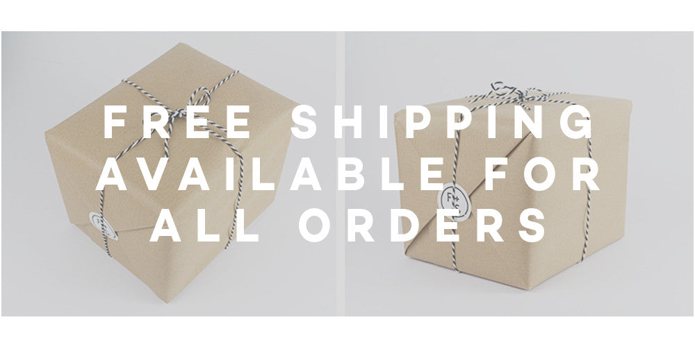 Fig and Sparrow Free Shipping on all order