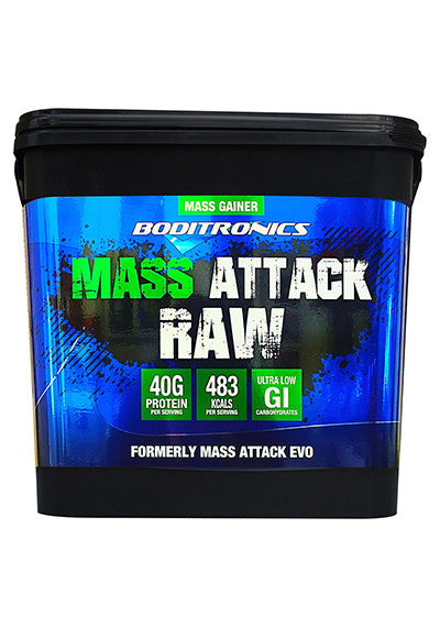 Mass Attack Raw
