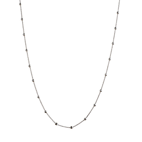 Vamp Chic Rio Long Necklace in Silver