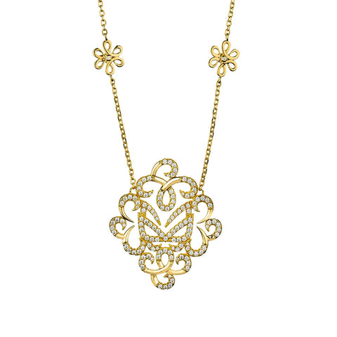 Hidden Mask Fancy Necklace Vamp London