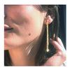 Yellow Gold Rio Earrings | Vamp London Jewellery