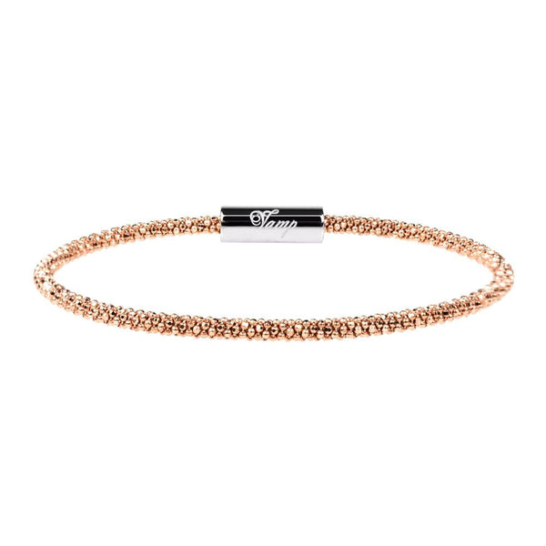 Rose Gold Skinny Bracelet | Vamp London Jewellery