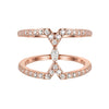 Rose Gold Marquise Ring