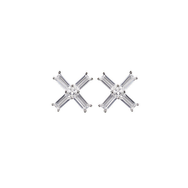 Tre Vie Baci Stud Earrings - Vamp London