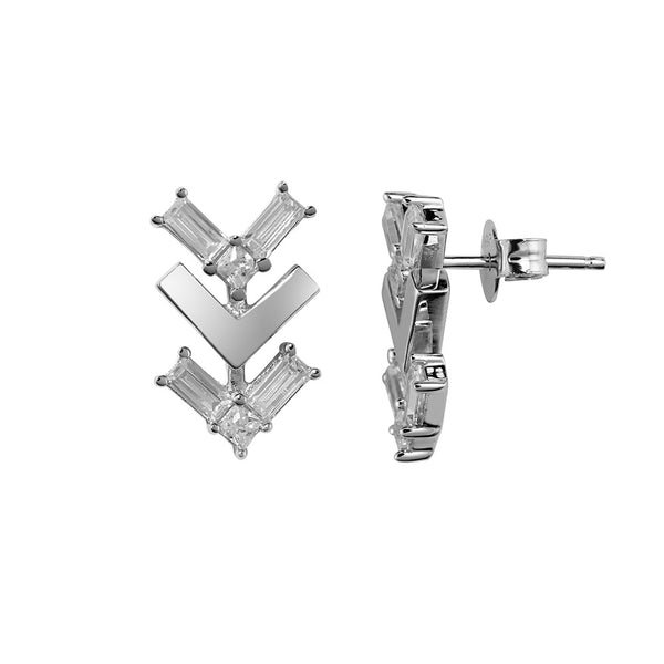 Tre Vie Follow Me Stud Earrings - Vamp London