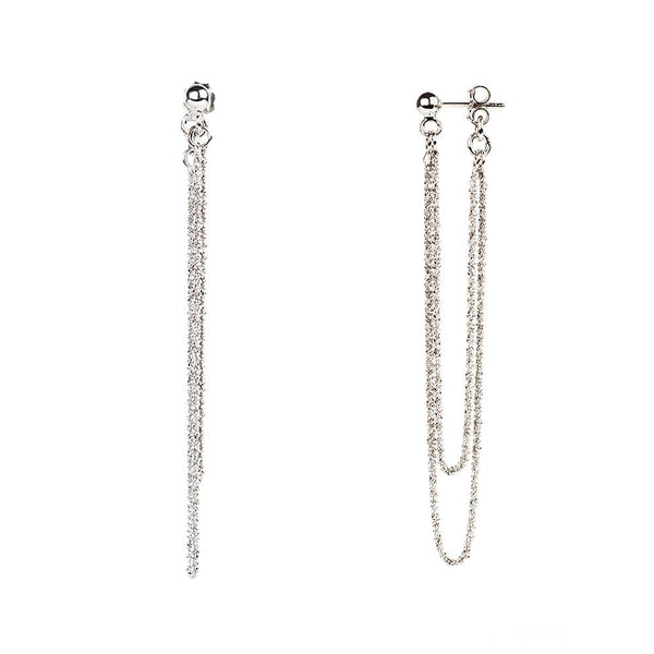Vamp Chic Rio Silver Earrings - Vamp London