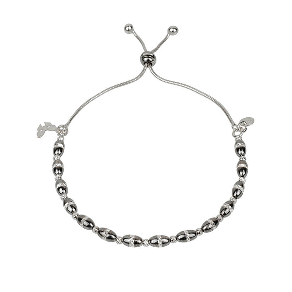 Vamp Chic Bold Oxidised Bracelet - Vamp London