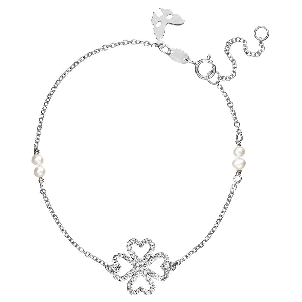 Silver Lucky Bracelet | Vamp London Jewellery
