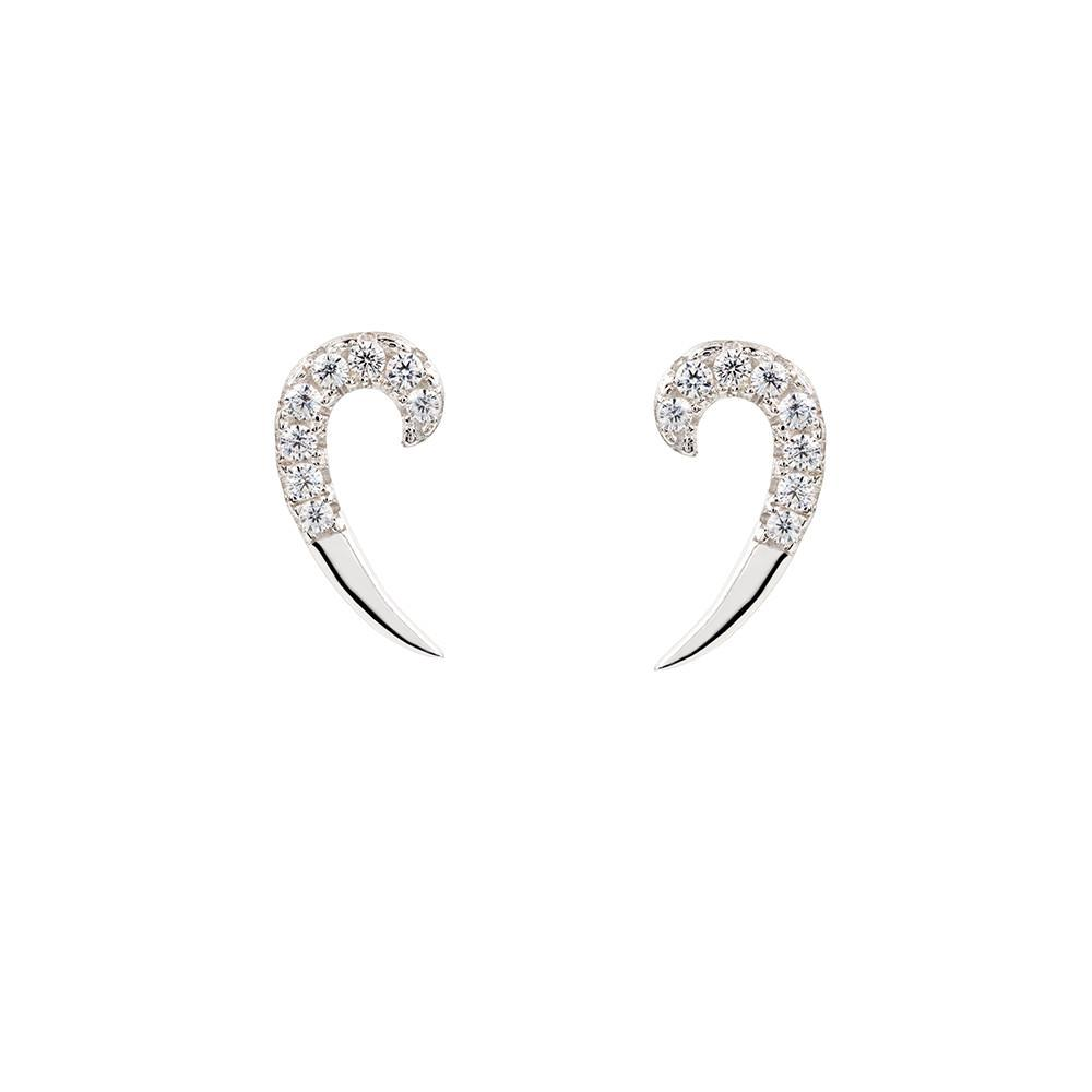 Silver Spike Earrings | Vamp London Jewellery