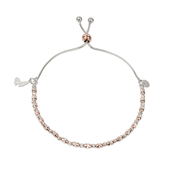 Vamp Chic Dainty Rose Gold Bracelet - Vamp London