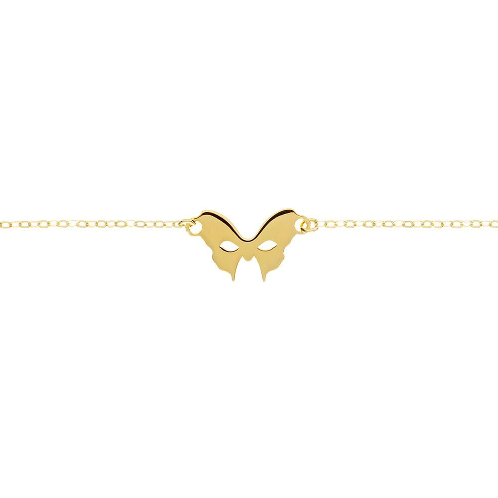 Yellow Gold Mask Bracelet | Vamp London Jewellery