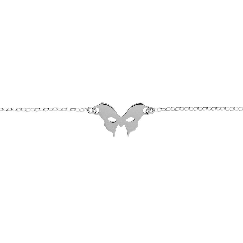 Silver Mask Bracelet | Vamp London Jewellery