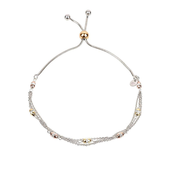 Vamp Chic Triple Row Bracelet - Vamp London