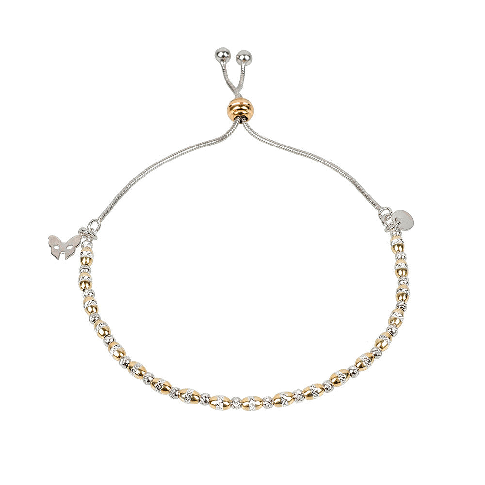 Vamp Chic Dainty Yellow Gold Bracelet - Vamp London