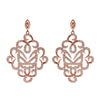 Rose Gold Fancy Earrings | Vamp London Jewellery