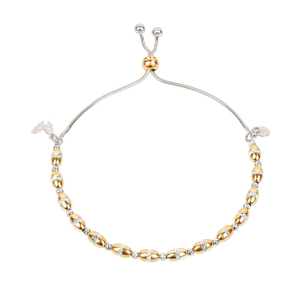 Vamp Chic Bold Yellow Gold Bracelet - Vamp London