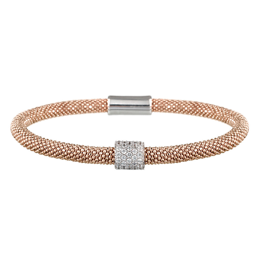 Rose Gold Bracelet 1 Cluster | Vamp London Jewellery