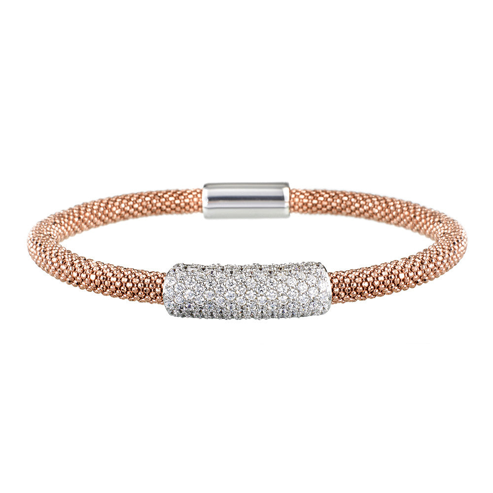 Rose Gold Bracelet Large Cluster | Vamp London Jewellery