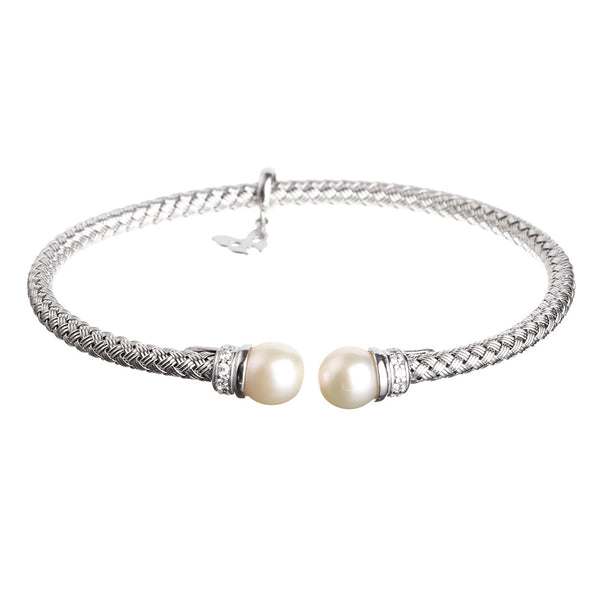 Silver Pearl Bracelet | Vamp London Jewellery