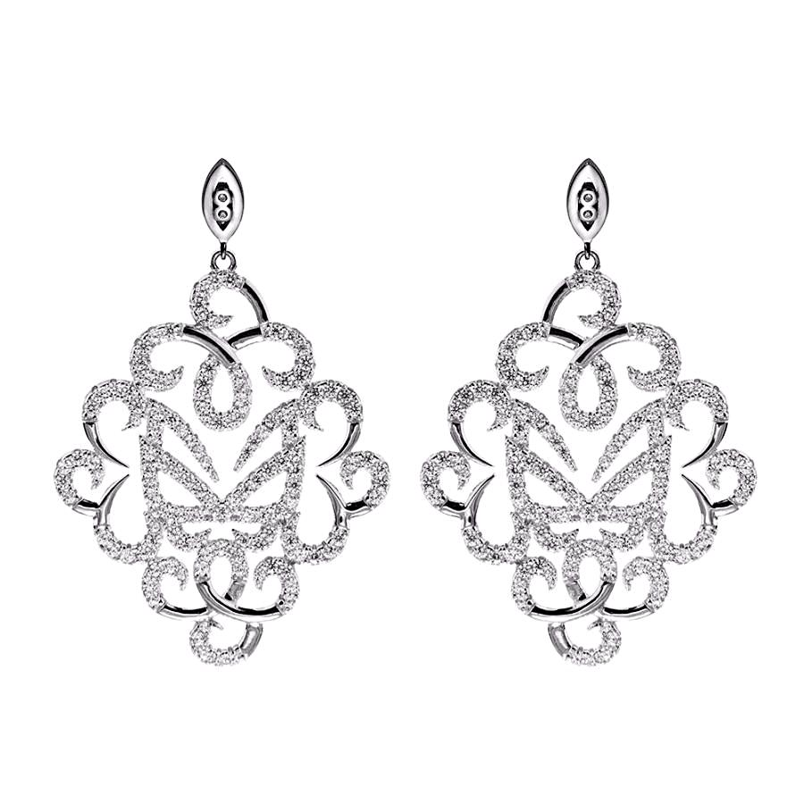 Silver Fancy Earrings | Vamp London Jewellery