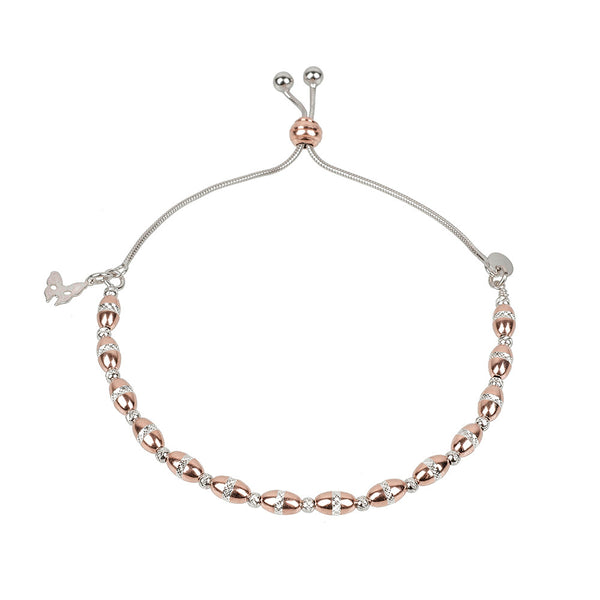 Vamp Chic Bold Rose Gold Bracelet - Vamp London