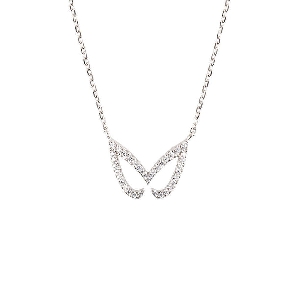 Silver Unmasked Necklace | Vamp London Jewellery