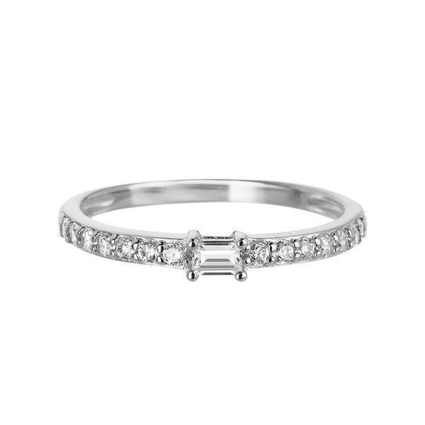 Silver Band Ring | Vamp London Jewellery