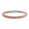 Mesh Bold Rose Gold Bracelet - Vamp London
