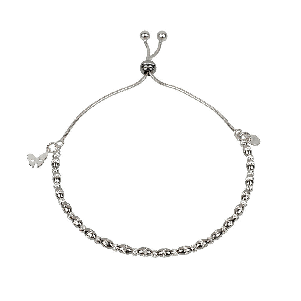 Vamp Chic Dainty Oxidised Bracelet - Vamp London