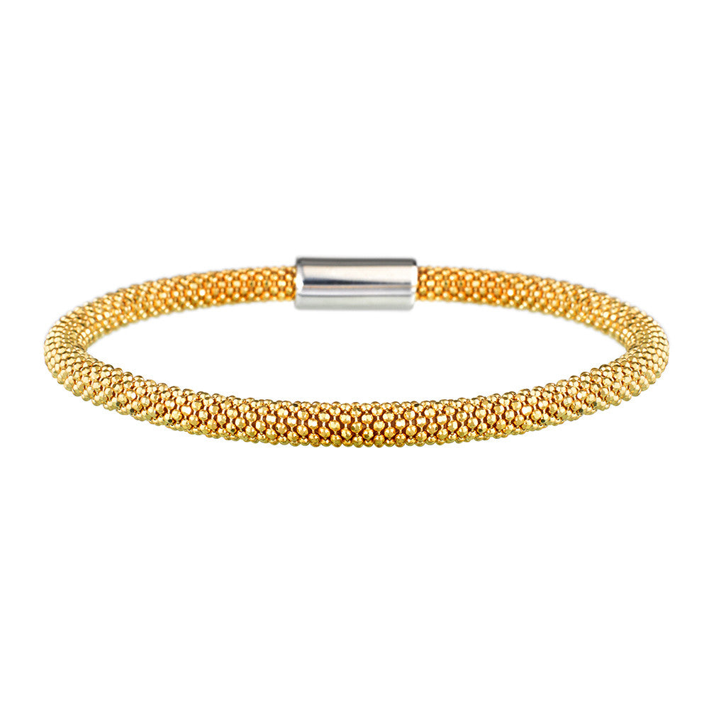 Yellow Gold Dainty Bracelet | Vamp London Jewellery