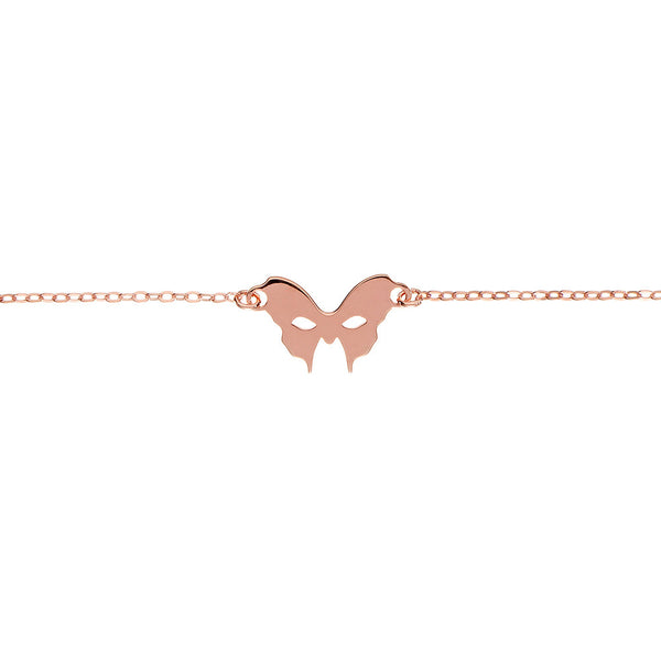 Rose Gold Mask Bracelet | Vamp London Jewellery