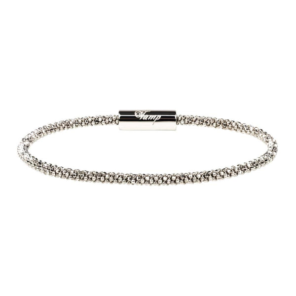 Silver Skinny Bracelet | Vamp London Jewellery