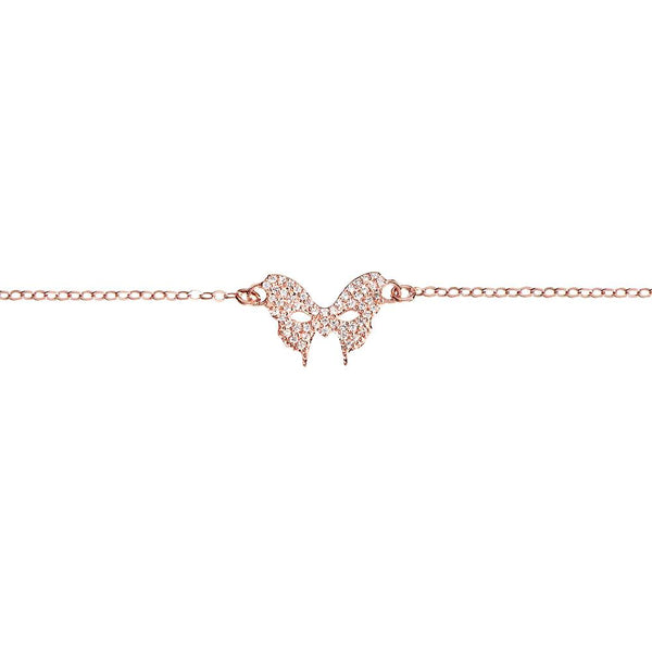 Rose Gold Pave Bracelet | Vamp London Jewellery