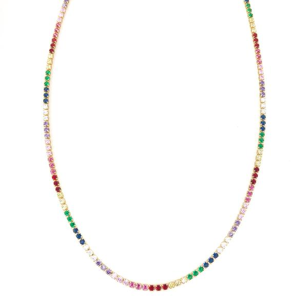 Chocker multicolor