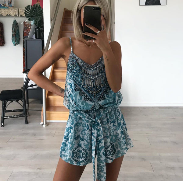 Paradise is here playsuit