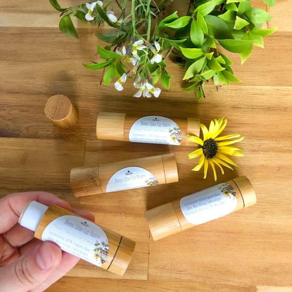 Bees Wax Lip Balm- Warm vanilla and Honey