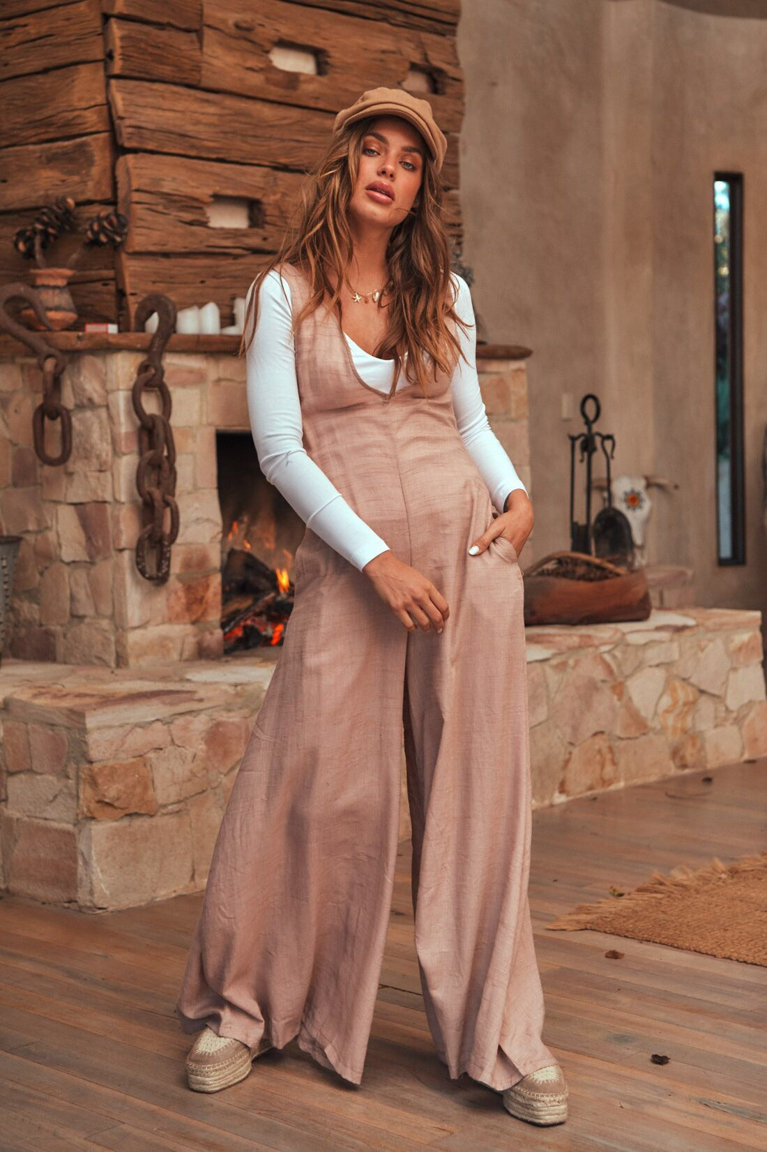 Sea Shell Forest Jumpsuit