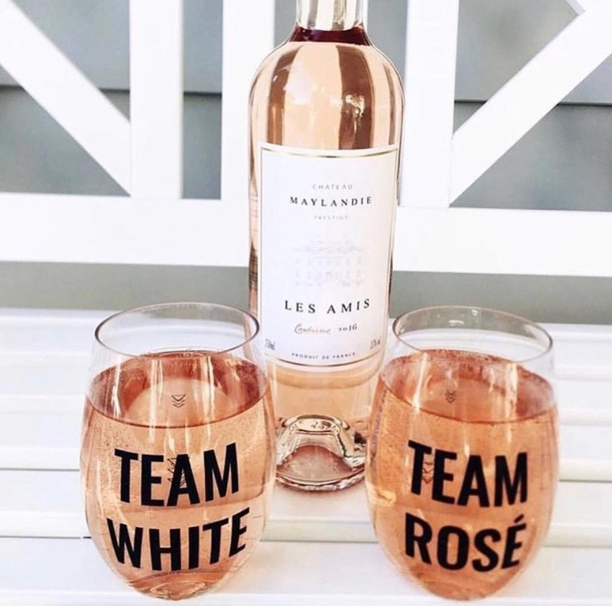Team wine cup set