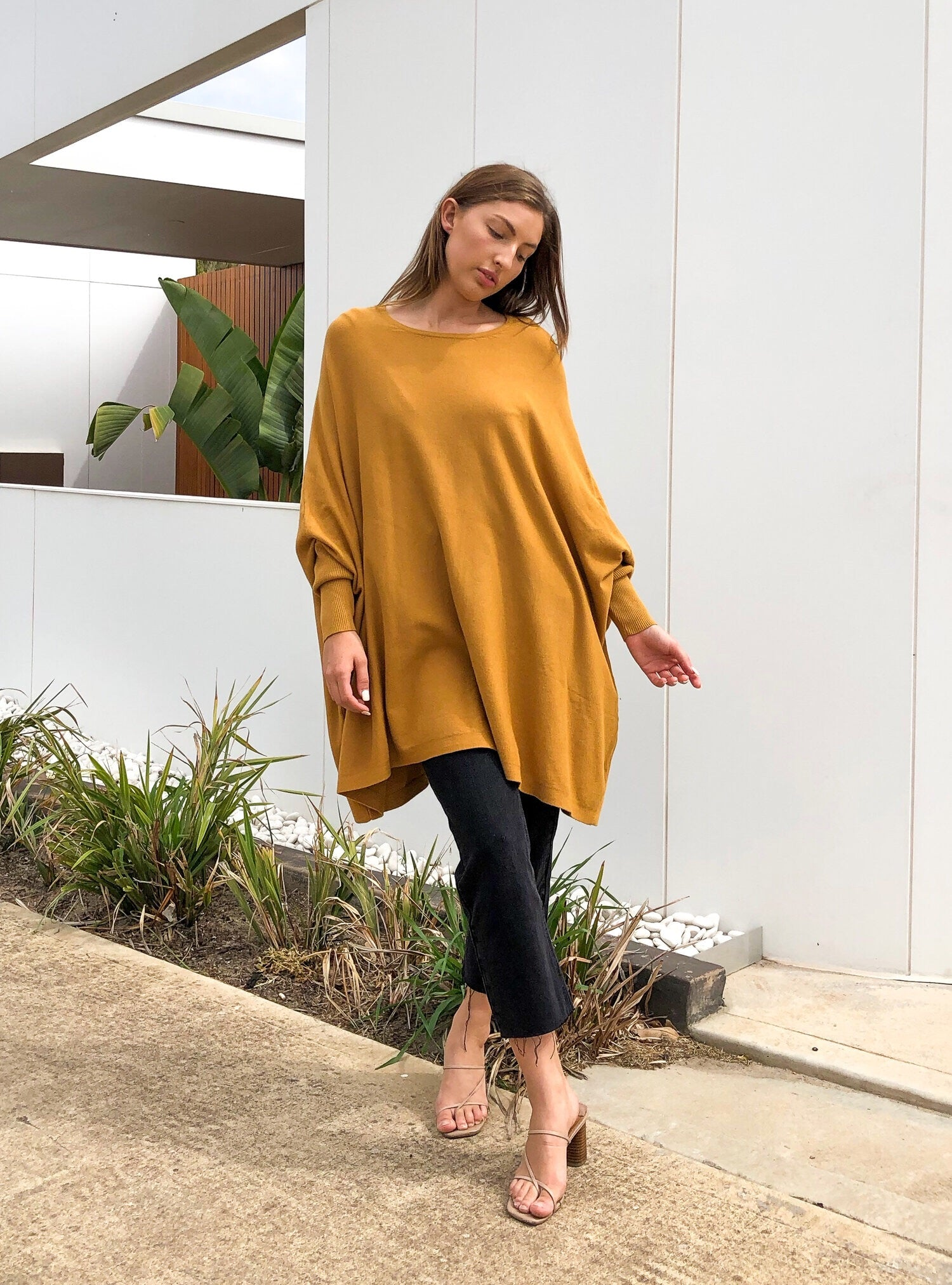 Four One Three Long Sleeve- Mustard