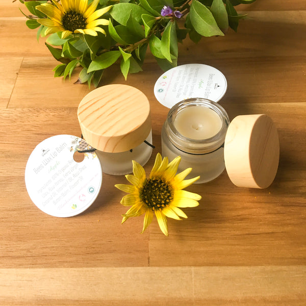 Bees Wax Lim Balm Pot- Apple